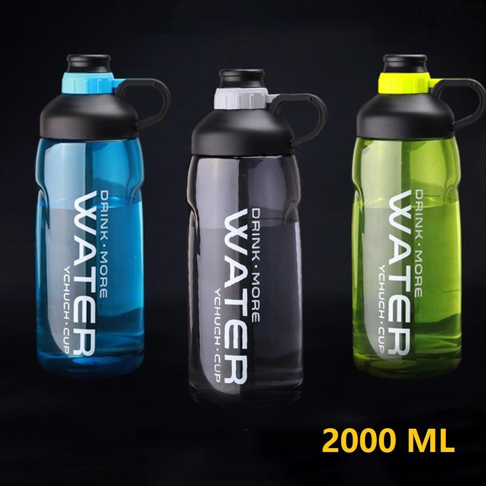 AliExpress - Leak-proof Sports Water Bottle Portable 2000 ml Large Capacity Food-Grade Water Bottle