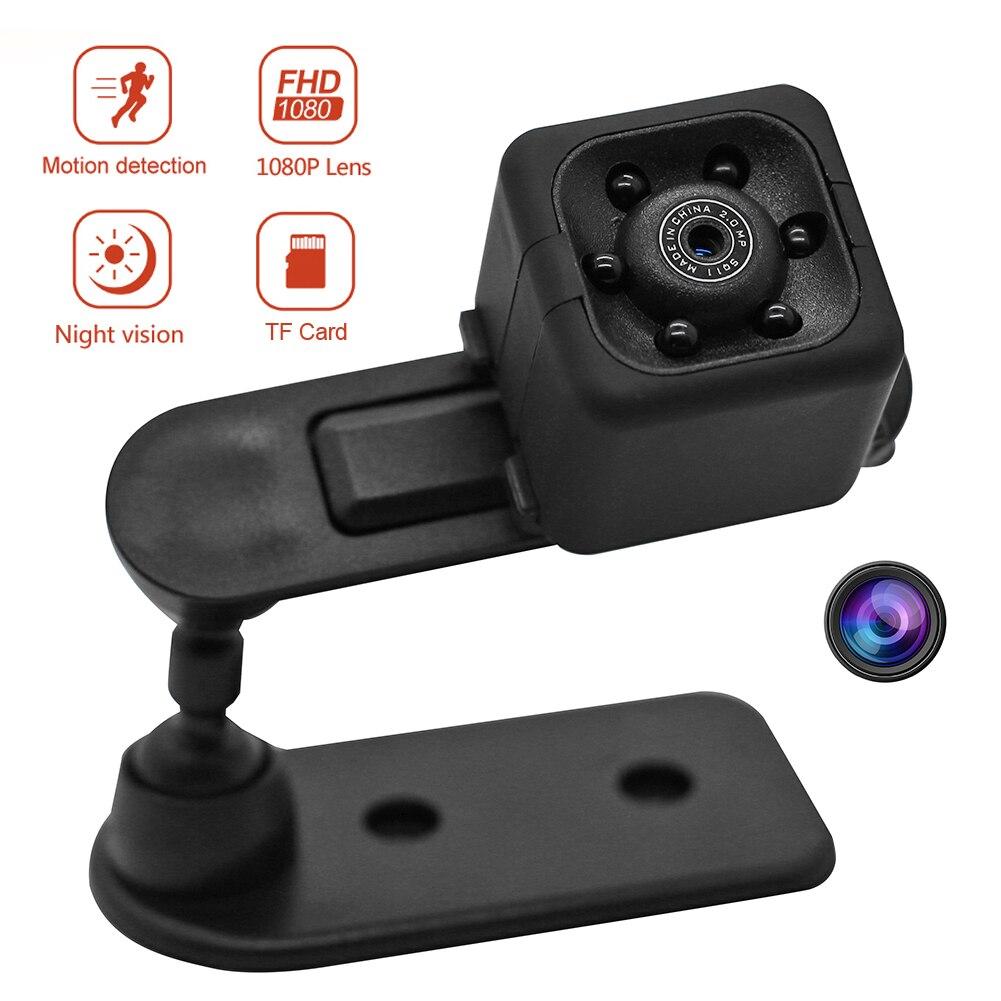 Minicámara SQ11 con Sensor de 1080P, videocámara de acción con visión nocturna,...