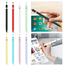 For Apples iPad Pencil 1 Gen Soft Silicone Case For Apple Pencil Case Pencil Silicone Touch Screen P