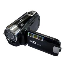 Full HD 1080P Portable Sports Vidicon 270 Degree Rotation 16MP High Definition Digital Camcorder ABS