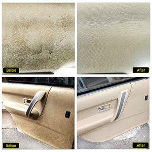 Image 3 - Чистящее средство для салона автомобиля, потолочный очиститель для автомобильной обивки, кожаной ткани, очищающее средство без воды для автомобильной крыши, инструмент для очистки приборной панели