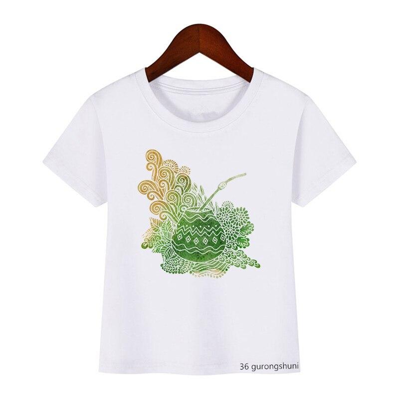 Милая детская одежда, футболка, милый спутник, футболка с мультяшным принтом тыквы кокоса, Забавная детская летняя одежда для мальчиков и де...
