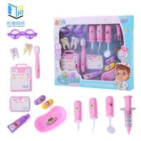 childrens toy set simulation play house doctor puzzle injection stethoscope medical tools 2021