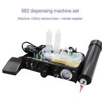 semi automatic dispenser needle adapter filling machine manual controller silica gel automatic glue injection glue machine
