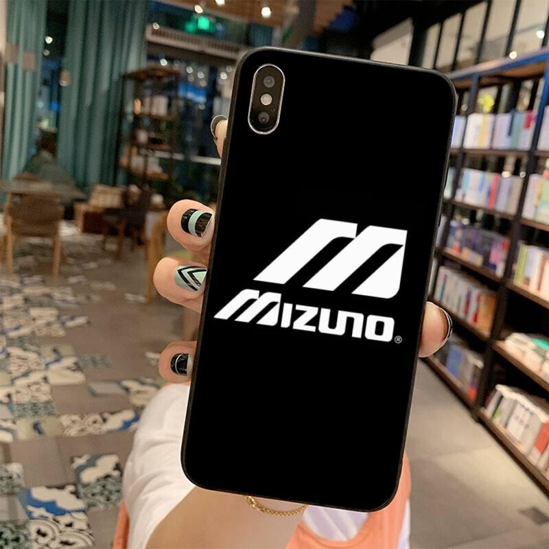 Marca de moda Mizuno, funda de teléfono para iPhone 11 pro XS MAX 8 7 6 6S Plus X 5S SE 2020 XR, funda