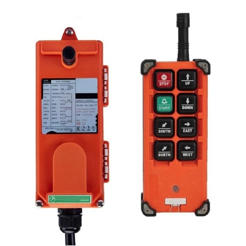 dc12v 48v wireless remote control switches wide voltage 30a relay dc 12v 24v 36v 48v receiver and digital remote controller 3key F21-E1B F21-2S AC 220V 110V 380V 36V DC 12V 24V wireless Industrial remote controller switches Hoist Crane Control Lift Crane