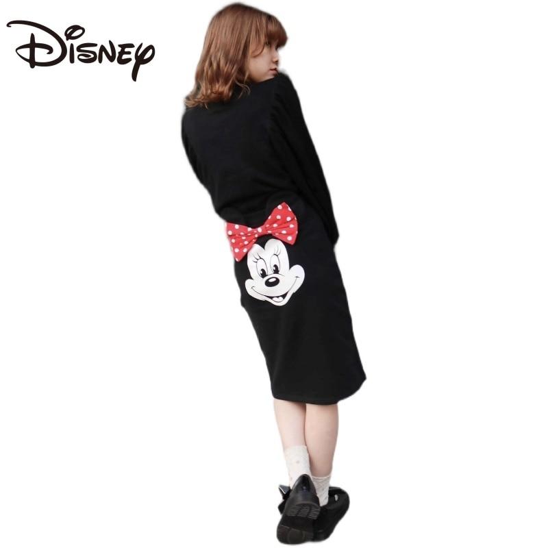 Disney Child Girl Minnie Cartoon Skirt Pp Cartoon Skirt Elastic Cute Slimming Fashion Brand Cartoon woman skirts