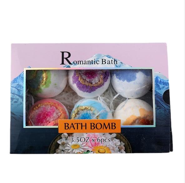 Набор соляных шариков для ванны, взрывобезопасные соляные шарики для ванны, мячи для мытья ванны, мячи для ванны, соли для ванны, соли для тел...