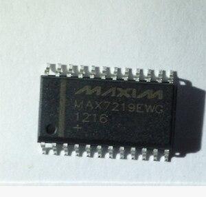 Xinyuan 10 шт./лот MAX7219EWG + T MAX7219EWG SOP24 MAX7219 SOP SMD новый и оригинальный IC