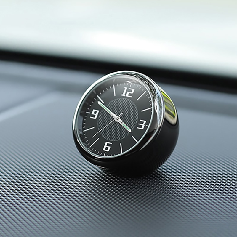 Voor Bmw Audi Voor Mercedes Honda Ford Toyota Porsche Honda Auto Klok Lichtgevende Tafel Refit Interieur Quartz Horloges Auto Ornamenten
