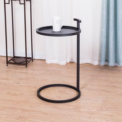 Europeia-estilo Simples Pequena Mesa Lateral de Ferro Mesa de Canto Redonda De Madeira/Ferro Mesa Sala de estar Mesa de Café Mesa mesa de chá