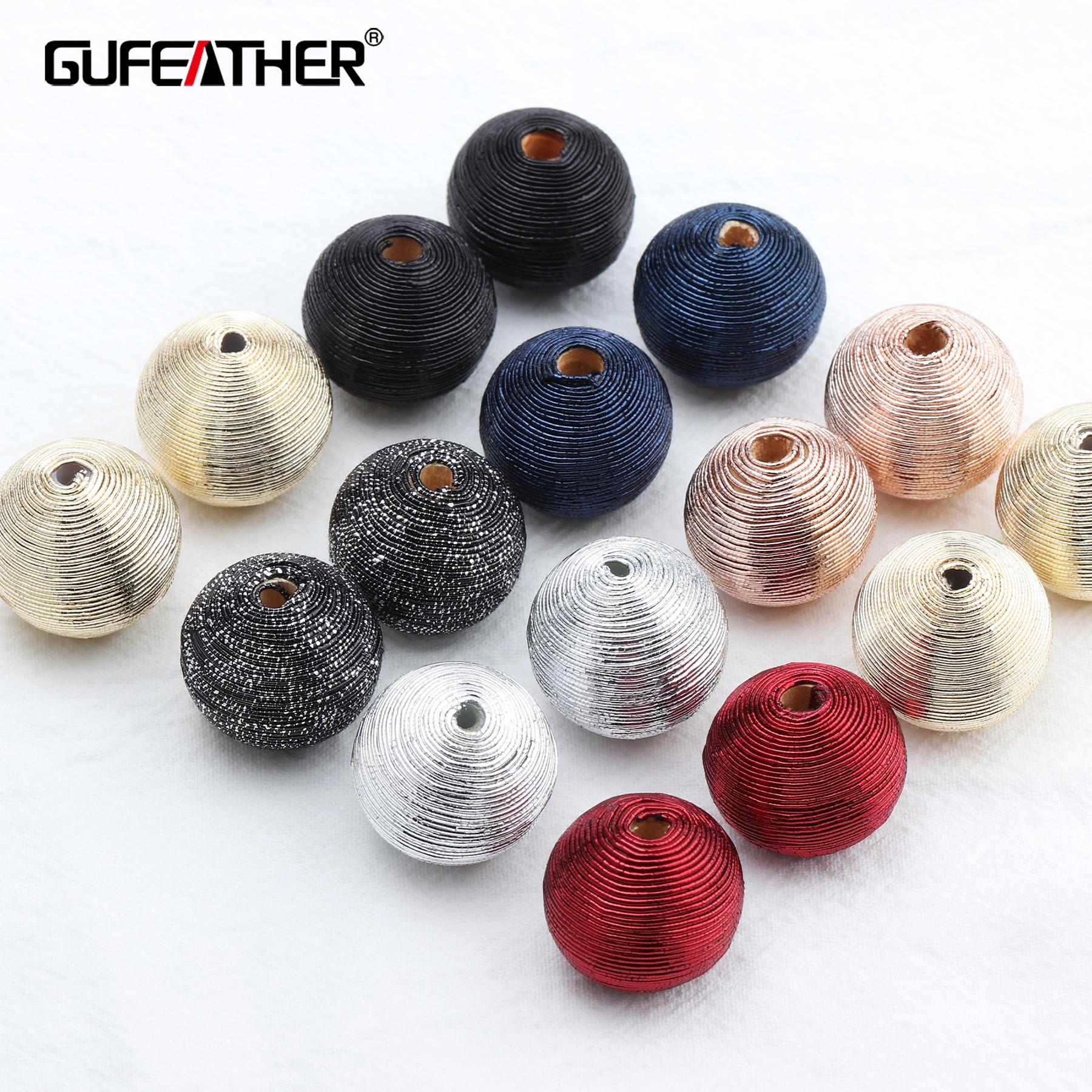 GUFEATHER M535, jóias e acessórios, diy brincos, forma redonda, resultados da jóia, acessórios de diy, feito à mão, fazer jóias, 10 pçs/lote