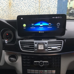 for Mercedes Benz E W207 2010 2011 2012 2013 2014 2015 2016 android car radio tape recorder head unit multimedia video player