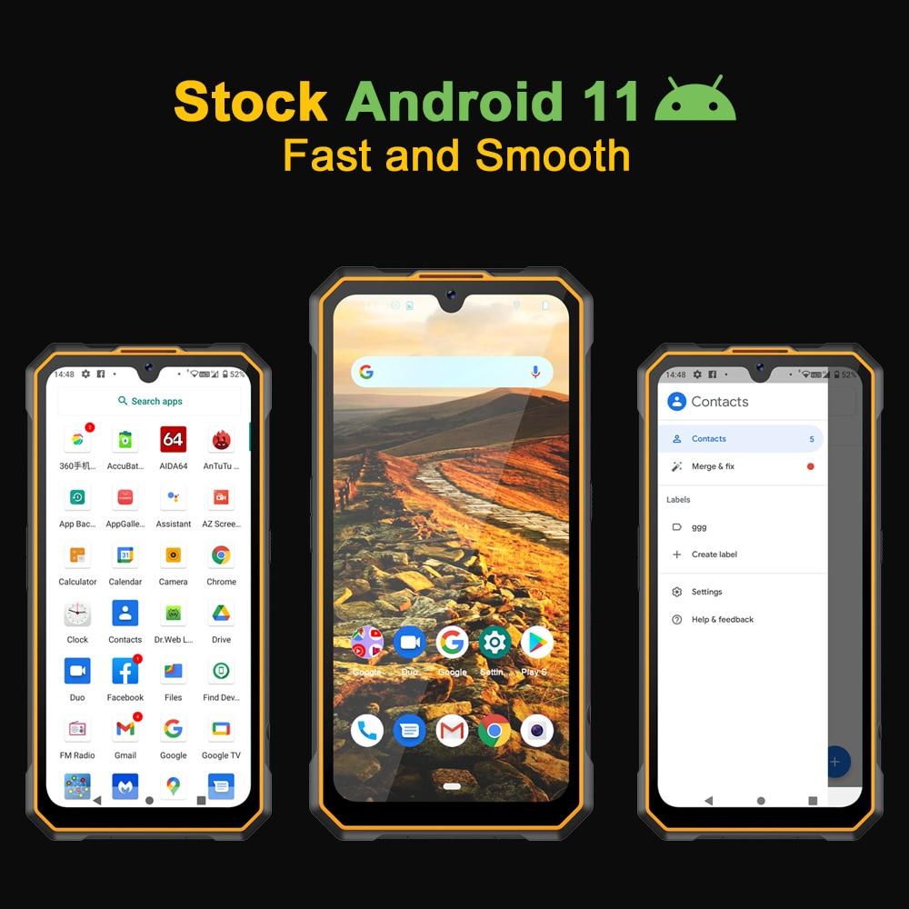 Cubot KingKong 5 Rugged Phone IP68 Waterproof Smartphone 5000mAh 48MP Triple Camera Android 11 NFC 4GB+32GB FACE ID Unlock enlarge