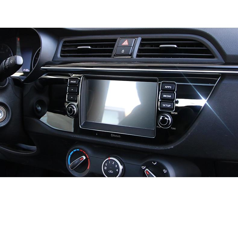 Lsrtw2017 de Gps del coche de la pantalla de navegación adornos para Kia Rio X línea Kx Cruz K2 Rio 2017, 2018, 2019, 2020 Interior molduras Accesorios