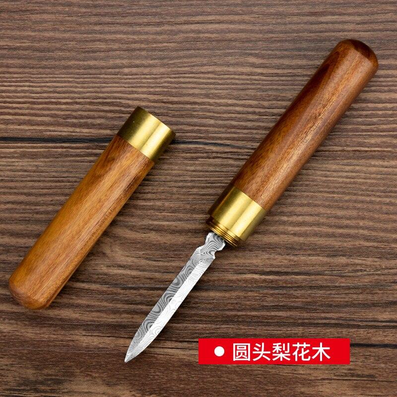 الصينية خمر الشاي الإبر اليدوية الفولاذ المقاوم للصدأ خشب الصندل عالية الجودة أدوات الشاي الإبر Caja دي Te المطبخ teبينة DB60CD