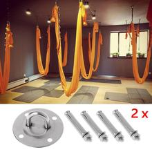 Ceiling Wall Mount Anchor Suspension Bracket Hook For Trx Gym Rings Crossfit Yoga Hammock Swing Hanging Chair
