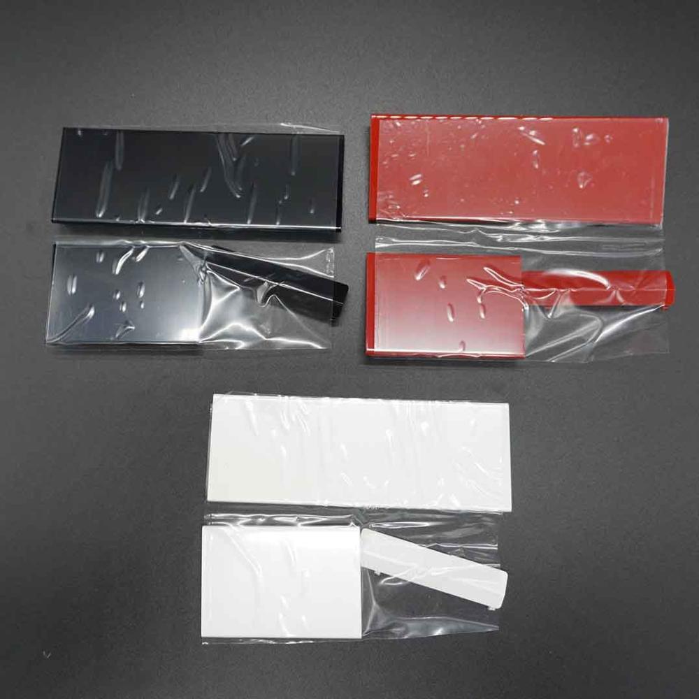 غانر 50 مجموعات بطاقة الذاكرة SD بطاقة اللوحات الباب ل نينتندو وي وحدة التحكم GC الذاكرة الباب يغطي غطاء استبدال
