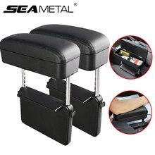 Car Accessories Car Armrest Box Adjustable Auto Arm Rest Box for Cars Armrest Cushion Universal Elbow Support Central Storage