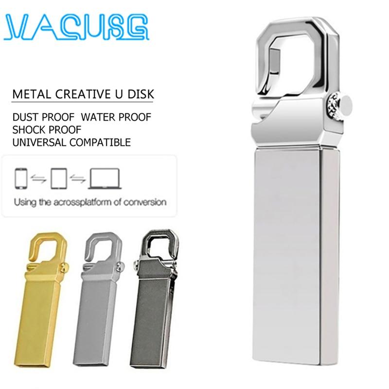 NEW usb flash drive 128GB 64GB 32GB 16GB 8GB 4GB pen drive pendrive флешка metal u disk memoria cel usb stick gift