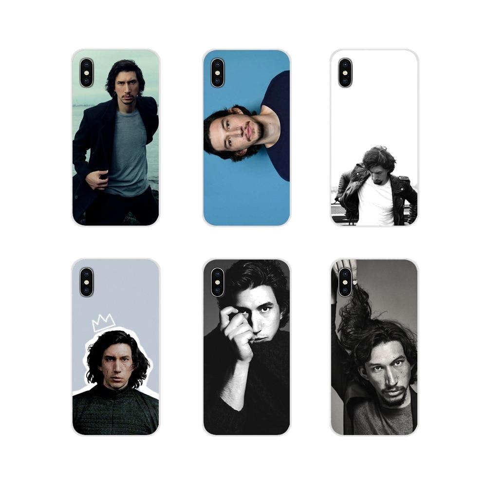 Силиконовые чехлы для телефонов Apple IPhone X XR XS 11Pro MAX 4S 5s 5C SE 6S 7 8 Plus ipod touch 5 6 Adam Driver US screen actor