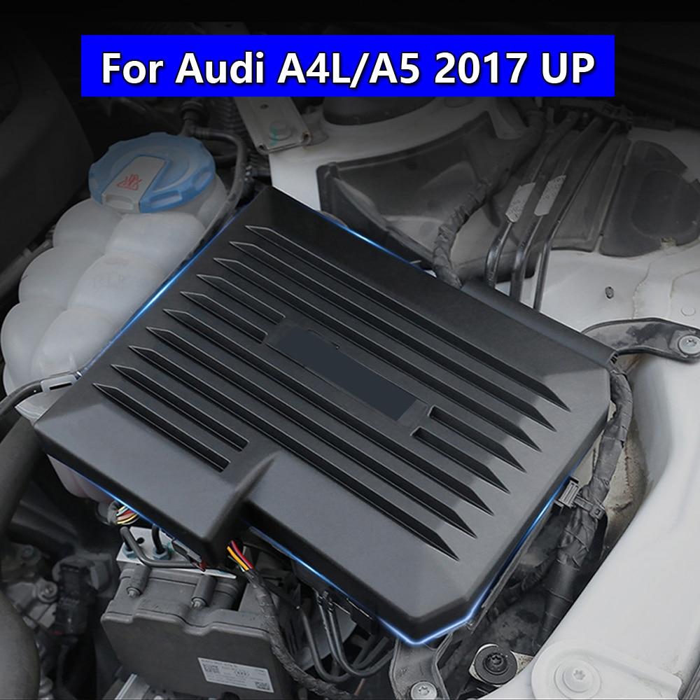 For Audi A4 A4L A5 2017 2018 2019 ECU Electronic Control Unit Protection Cap Engine Computer Board Dustproof Cover Car PC Trim
