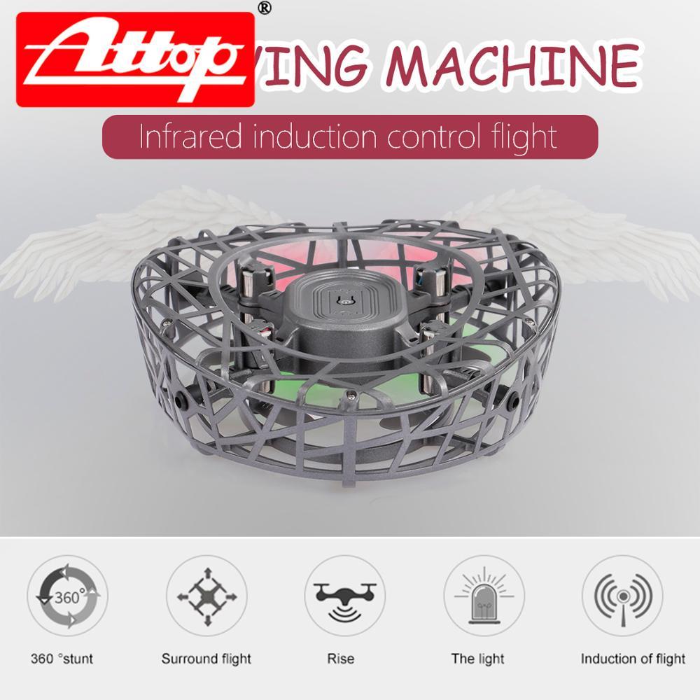 Atop-mini drone f6, antidrone, montado de controle indutivo, antirroupa