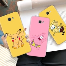 Cute Pika Multi Color Phone Case For Samsung J7 Prime J7 Neo Case Soft TPU For Galaxy J7 J5 J2 J4 Prime Core Protect Back Cover