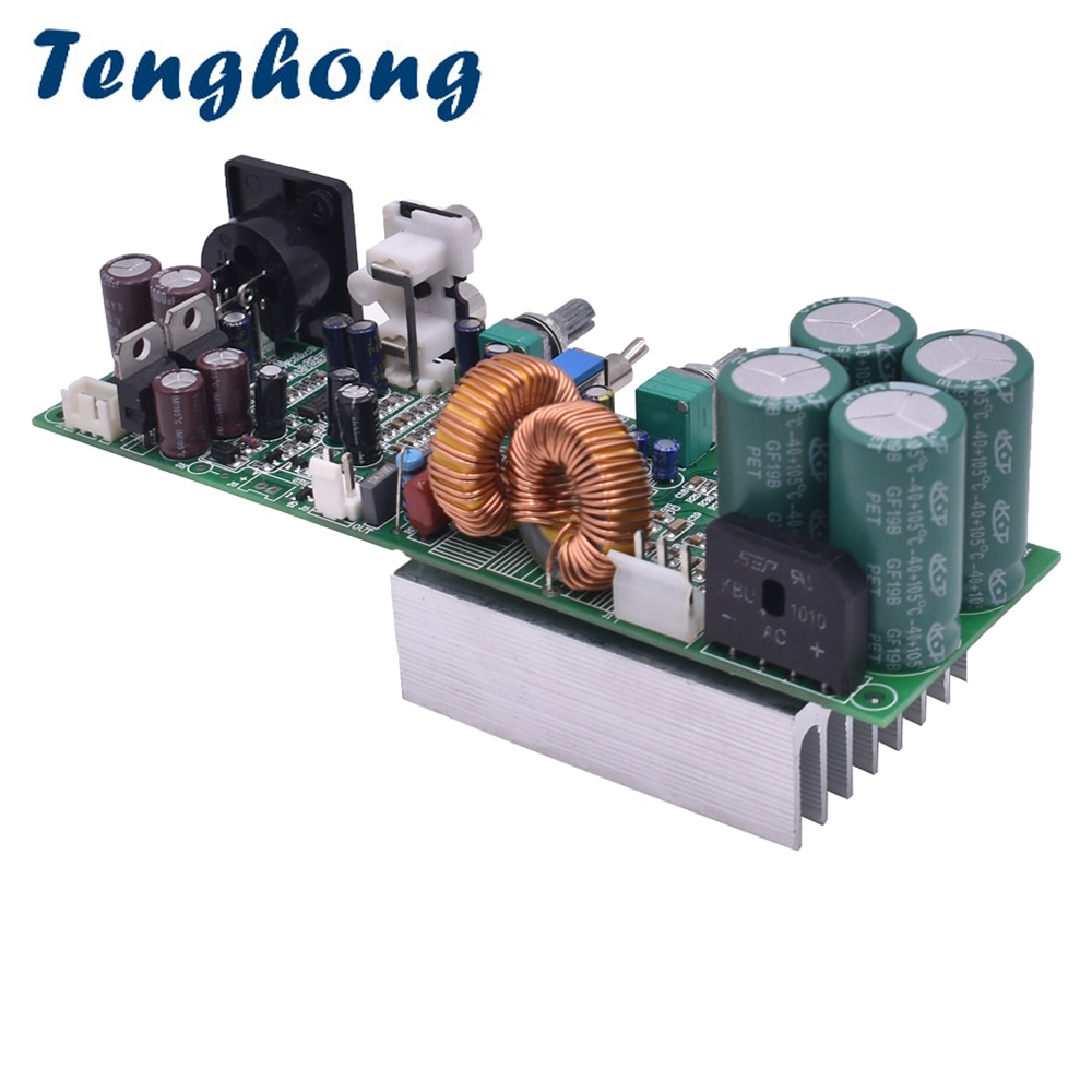 Tenghong TDA8954TH جهاز تضخيم الصوت مجلس 420W مونو الرقمية مضخم الصوت المزدوج AC الطاقة ل 15 بوصة مكبر الصوت المتكلم DIY أمبير