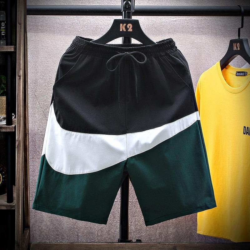 BPP Summer Sports Shorts Breathable Cool Men's Trend Capris Basketball Running Beach Pants Loose Cas