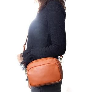 Mini Ladies Hand Bags Genuine Leather Women's Crossbody Bag Luxury Handbags Women Bags Designer Shoulder Bag Small Messenger Bag