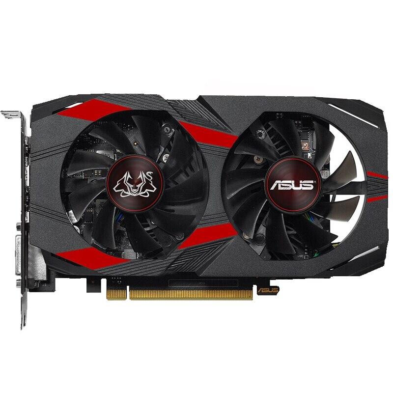 العلامة التجارية الجديدة ASUS CERBERUS-GeForce GTX1050TI-A4G 1303MHz-1417MHz gtx1050Ti سطح المكتب بطاقة الرسومات الألعاب