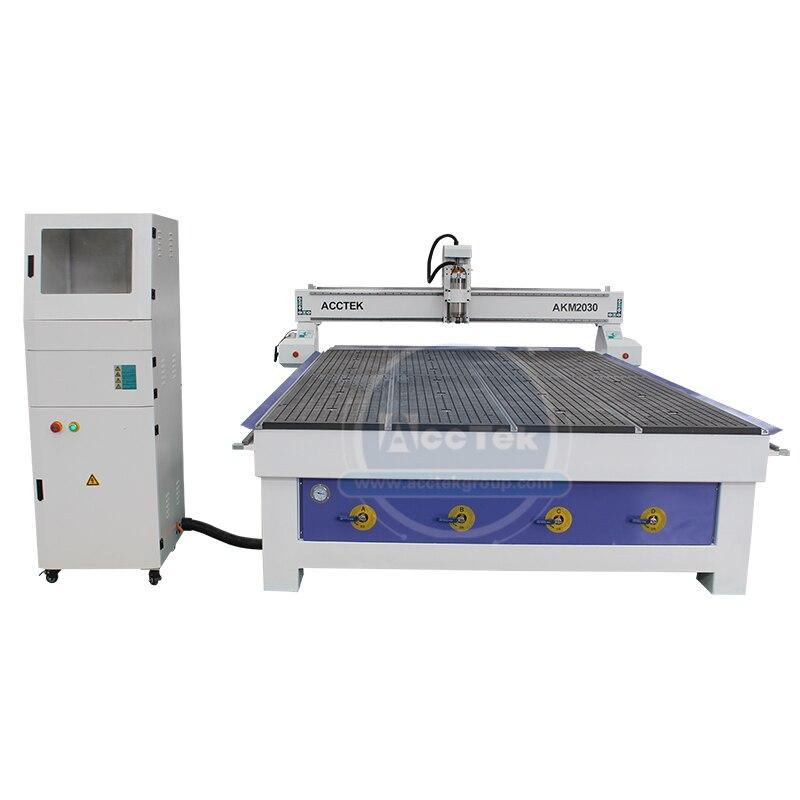 Alta precisão e alta qualidade carpintaria cnc roteador 2030 2040 máquina cnc com 3.2kw eixo de refrigeração ar