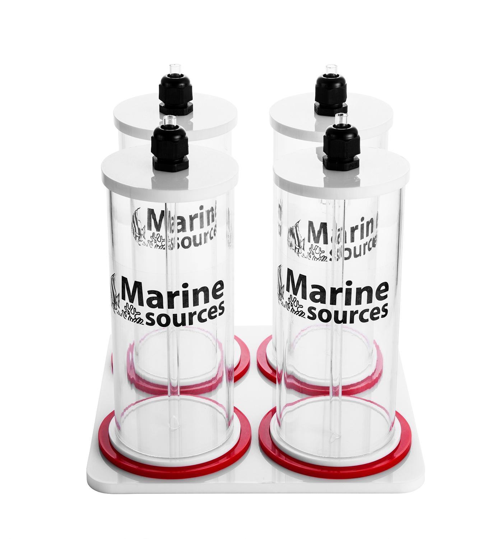 Fuentes marinas, mezclador acrílico de agua de mar, Coral, nutriente, recipiente de líquidos, utilizado junto con bomba de dosificación