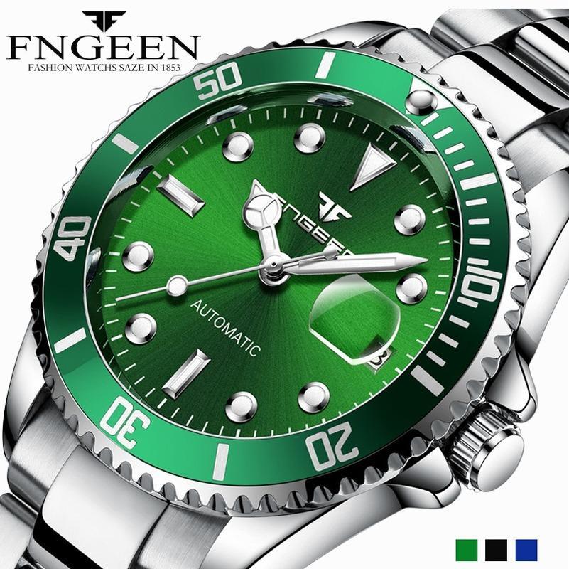 FNGEEN 2020 Top Brand Luxury Men 'S Watch Automatic Mechanical Watch Steel Watch Male Clock Tourbillon Relogio Masculino