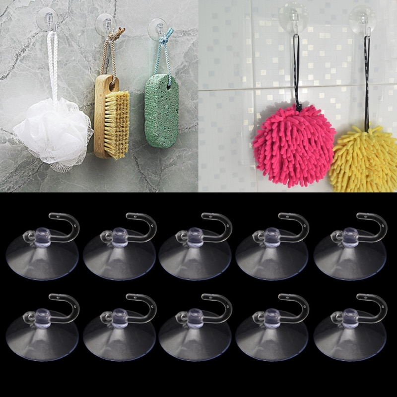 10pcs-glass-window-wall-strong-suction-cup-hooks-hanger-kitchen-bathroom-door