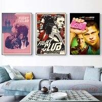 Toile de peinture film classique Fight Club  affiches et imprimes dimages sur le mur  decoration de maison