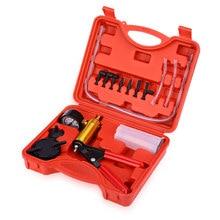 Ручной инструмент «сделай сам» для сброса тормозной жидкости, вакуумный пистолетный насос, тестер в комплекте, алюминиевый корпус насоса, вакуумный манометр