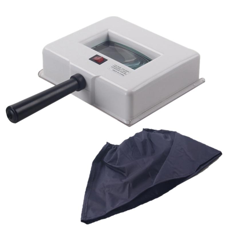 جهاز مصباح محلل الأشعة فوق البنفسجية لاختبار بشرة الوجه ، جهاز مصباح مع غطاء واقي ، قابس أوروبي