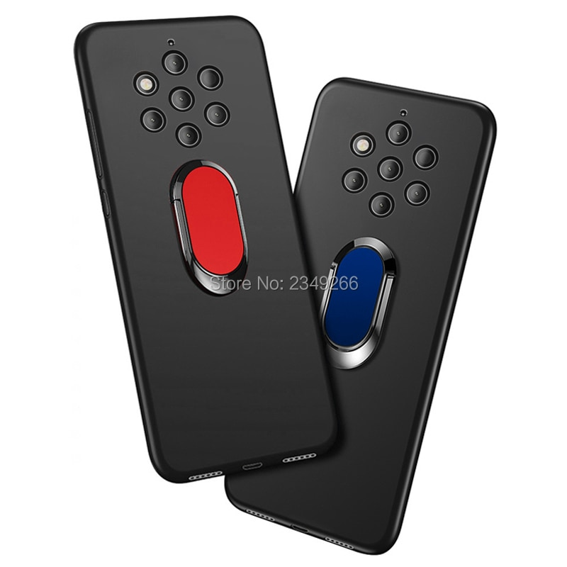 Case for Nokia 9 PureView 6GB 128GB Cover 5.99 inch Soft Black Silicone Cover for Nokia 9 Pure View