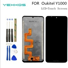 6.09 Inch New original For Oukitel Y1000 LCD Display and Touch Screen Digitizer Assembly Repair Part