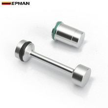 EPMAN Aluminium Oil Bypass Delete & Barbell Kit For LS1 LS2 LS6 LQ4 LQ9 Oil Pan Low Oil Level Sensor Delete Plug EPSWAP01LS