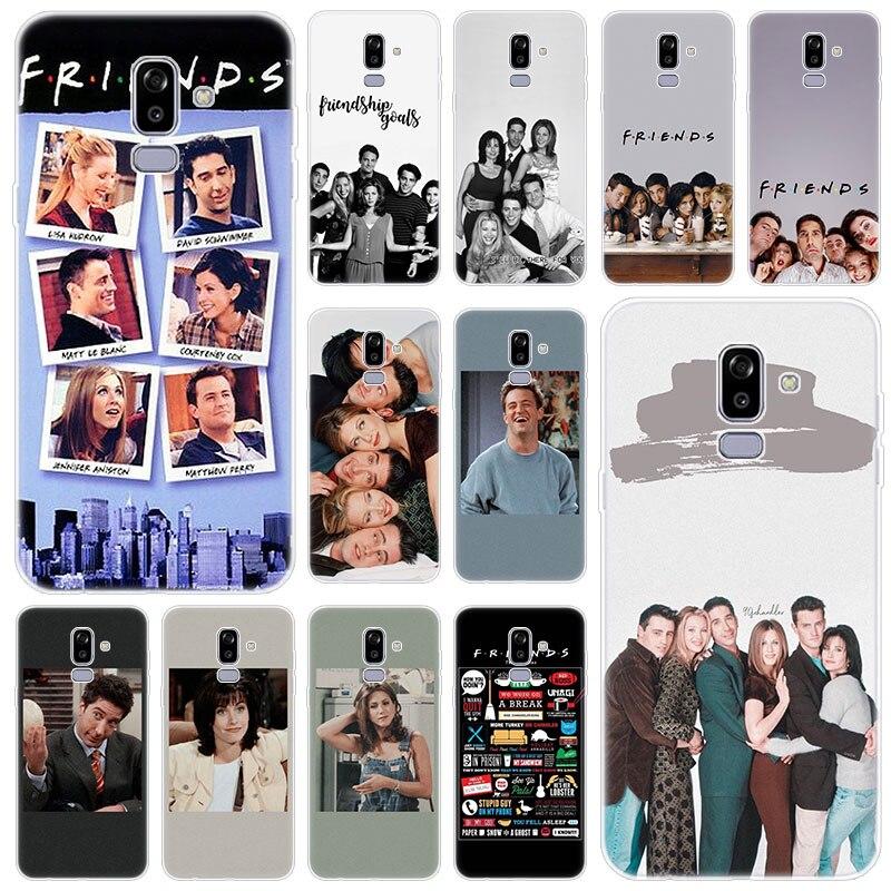 Serie de Televisión Friends juntos silicona caso para Samsung Galaxy J2 Pro J4 Plus J6 J7 primer J8 2018 J4 Core J3 2016 J5 2017 de la UE cubierta