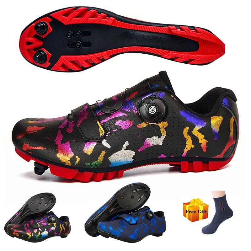 Zapatillas De Ciclismo De carretera para Hombre, calzado profesional para deportes al...