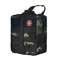 tactical first aid pouch outdoor survival kits emergency medical bag molle system airsoft hunting accessories nylon