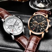 Montre de Sport hommes 2020 LIGE nouvelle mode Sport Quartz hommes montres marque de luxe en cuir affaires étanche horloge Relogio Masculino