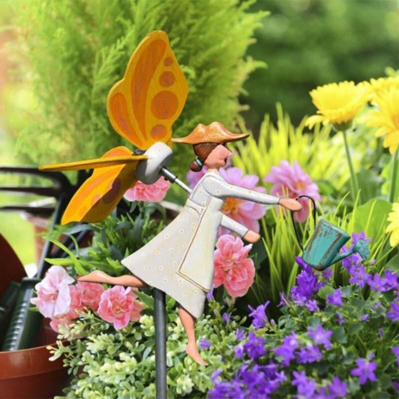 طاحونة مهرج حديقة الديكور ملكة جمال حديقة النحل ديكور فني ation ديكور فني دوامة الرياح المغازل الحرف اليدوية الخشبية