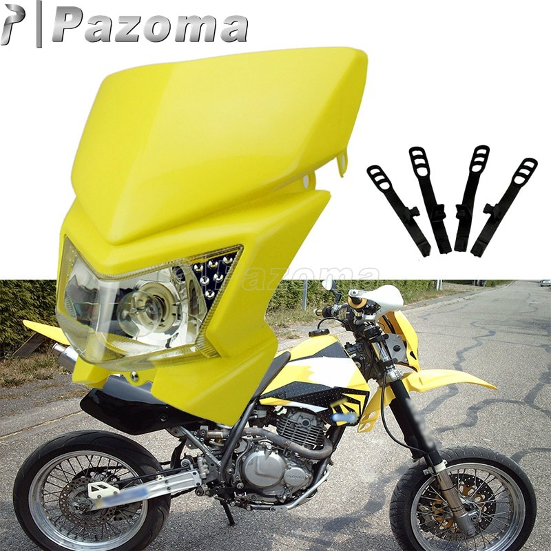 Motocicleta Motocross Dual luz para deportes para Honda Yamaha Kawasaki Suzuki KTM XC SCF MX SMR DRZ KX KLX YZ WR TTR TT225 CRF CR