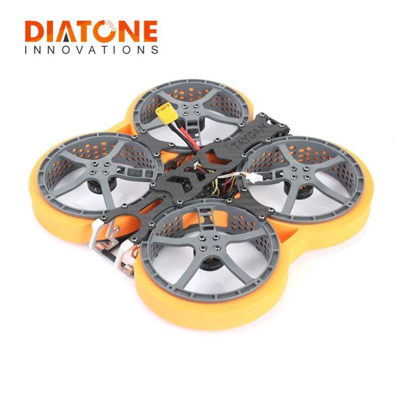 Diatone Taycan 25 KANAL Power Einheit 2,5 Zoll 4S Cinewhoop FPV Racing Drone PNP w/ MAMBA F411 Flug controller 1404 5000KV Motor