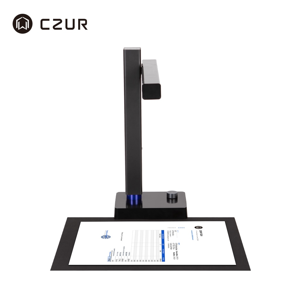 CZUR Shine Ultra Document Camera for Online Teaching & Conference,A4 Document Scanner with OCR Function for MacOS and Windows